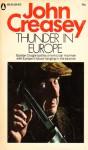 Thunder in Europe - John Creasey
