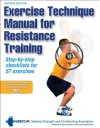 Exercise Technique Manual for Resistance Training-2nd Edition - NSCA -National Strength & Conditioning Association