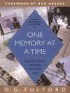 One Memory at a Time - D.G. Fulford