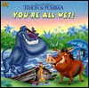 The Lion King's Timon And Pumbaa: You're All Wet! (Golden Look Look Books) - Barbara Bazaldua