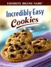 Incredibly Easy Cookies - Publications International Ltd.