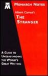 Albert Camus's The stranger (Monarch notes) - Monarch Notes, Laurie E. Rozakis, Albert Camus
