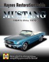 Ford Mustang Restoration Guide, '64 1/2-'70 - Jay Storer