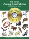 Full-Color Animal Illustrations CD-ROM and Book - Dover Publications Inc.