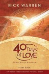 40 Days of Love Video Study Guide: We Were Made for Relationships - Rick Warren
