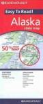 Rand Mcnally Easy to Read Alaska State Map - Rand McNally