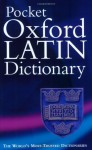 Pocket Oxford Latin Dictionary - James Morwood