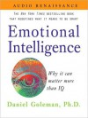 Emotional Intelligence: Why It Can Matter More Than IQ (MP3 Book) - Daniel Goleman, Barret Whitener