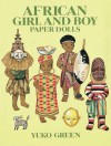 African Girl and Boy Paper Dolls - Yuko Green