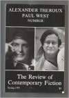 The Review of Contemporary Fiction: Spring 1991 Vol. XI, #1 (Alexander Theroux, Paul West, Number) - Steven Moore