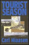 Tourist Season (G K Hall Large Print Book Series) - Carl Hiaasen