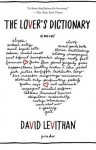 The Lover's Dictionary: A Novel - David Levithan