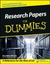 Research Papers For Dummies - Geraldine Woods