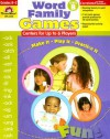 Word Family Games, Level B: Grades K-2; Centers for Up to 6 Players - Jo Ellen Moore