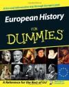 European History for Dummies - Sean Lang