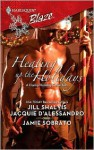 Heating Up the Holidays (Harlequin Blaze #435) - Jill Shalvis, Jacquie D'Alessandro, Jamie Sobrato