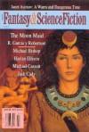 The Magazine of Fantasy and Science Fiction, July 1996 - Kristine Kathryn Rusch, Janet Asimov, R. Garcia y. Robertson, Michael Bishop, Harlan Ellison, Michael Cassutt, Jack Cuddy