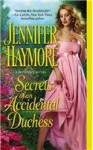 Secrets of an Accidental Duchess - Jennifer Haymore