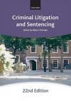 Criminal Litigation and Sentencing - Robert McPeake