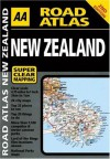 AA Road Atlas: New Zealand - A.A. Publishing, A.A. Publishing