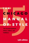 The Chicago Manual of Style (Hardcover w/CD) - John Grossman