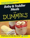 Baby and Toddler Meals For Dummies - Dawn Simmons, Curt Simmons
