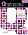 Q: Skills for Success Listening & Speaking Intro Student Book with Student Access Code Card - Marguerite Anna Snow, Lawrence J. Zwier, Kevin McClure
