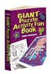 Giant Puzzle Activity Fun Book - Anna Pomaska