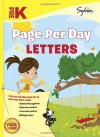 Pre-K Page Per Day: Letters - Sylvan Learning