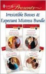 Irresistible Bosses & Expectant Mistresses Bundle - Cathy Williams, Susan Stephens, Christina Hollis, Anne Oliver