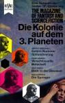 Die Kolonie auf dem 3. Planeten - Wulf H. Bergner, Ardrey Marshall, Miriam Allen deFord, Isaac Asimov, Jack Vance, Max Gunther, James Pulley