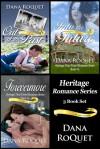 Heritage Romance Series, 3 Book Set, PG-13 All Iowa Edition - Dana Roquet