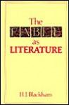 The Fable As Literature - H. J. Blackham