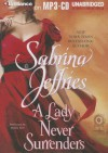 A Lady Never Surrenders - Sabrina Jeffries, Justine Eyre