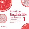 American English File 1 Class CDs - Clive Oxenden, Paul Seligson, Christina Latham-Koenig