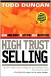 High Trust Selling - Todd Duncan