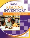 Basic Reading Inventory: Pre-Primer Through Grade Twelve and Early Literacy Assessments with CD-ROM & Student Booklet - Jerry L. Johns