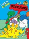 I Want to Draw Dinosaurs - Simon Abbott
