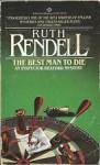 Best Man to Die - Ruth Rendell