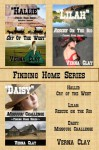 Finding Home Series Collection (Cry of the West: Hallie; Rescue on the Rio: Lilah; Missouri Challenge: Daisy) - Verna Clay