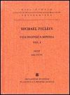 Michaelis Pselli Philosophica Minora - Michael Psellus