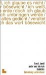 Peter und die Kuh : Gedichte - Ernst Jandl
