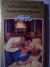 Winter's Flame (Candlelight Ecstasy Romance, #524) - Noelle Berry McCue