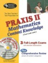 The Best Teachers' Test Preparation for the Praxis II Mathematics Content Knowledge Test [With CDROM] - Mel Friedman