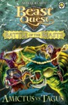 Beast Quest: Battle of the Beasts 2: Amictus vs Tagus - Adam Blade