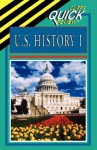U.S. History I (Cliffs Quick Review) - CliffsNotes, Abraham Hoffman