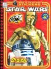 Star Wars Droids: Sticker Book to Color - Dalmatian Press