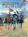 Jackson & Lee: Legends in Gray: The Paintings of Mort Kunstler - James I. Robertson Jr., Mort Künstler