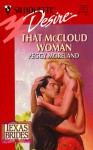 That McCloud Woman: Texas Brides - Peggy Moreland