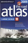 2009 The Road Atlas Large Scale: United States (Rand Mcnally Large Scale Road Atlas USA) - Rand McNally